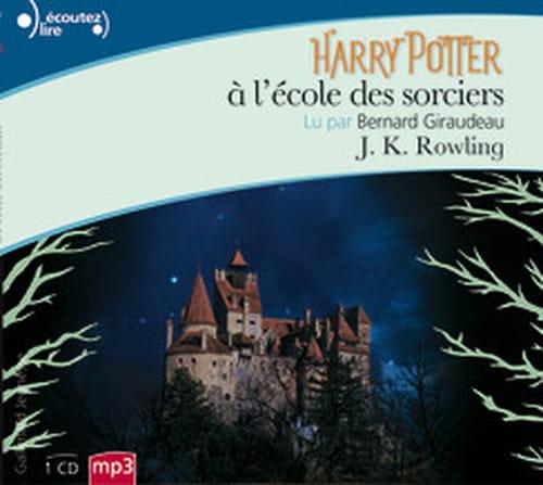 """""""Harry Potter à l'école des sorciers"""" lu par Bernard Giraudeau"""