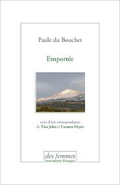 Attentes  : Paule Du Bouchet