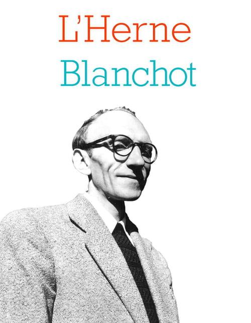 L'angoisse de la page Blanchot