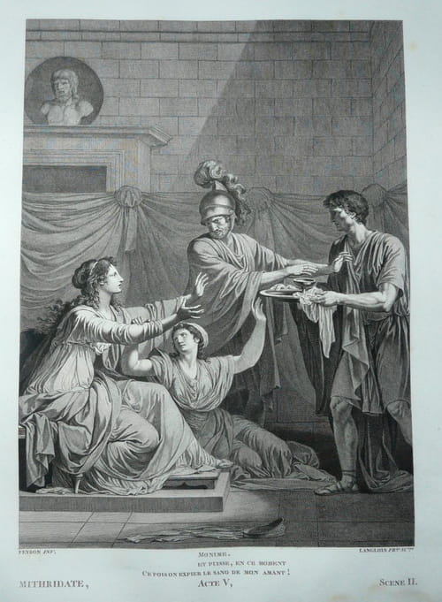 Mithridate de Racine : Résumé