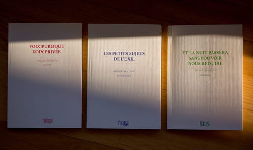"""""""Et la nuit passera sans pouvoir nous réduire"""" : revue Folazil n°3"""