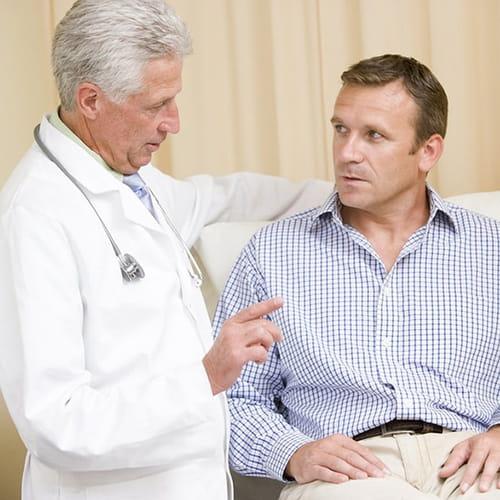 مقابلة مع الأخصائيين:  اعراض البروستاتا