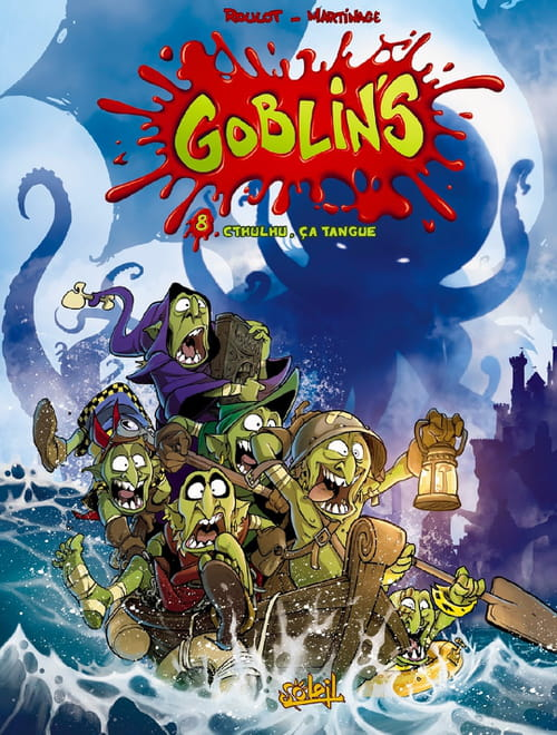 Goblins, tome 8 : Cthulhu, ça tangue