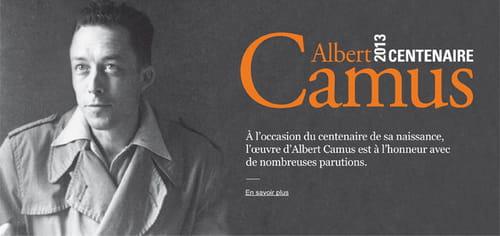Centenaire Albert Camus : beaux-livres et correspondances