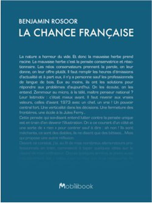 Contre la sinistrose, « La chance de française » un ebook participatif !
