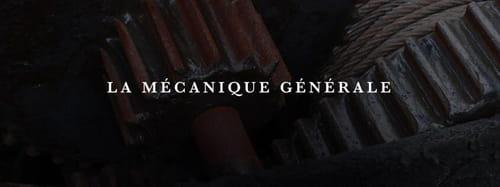 la Mécanique générale, nouvelle maison d'édition