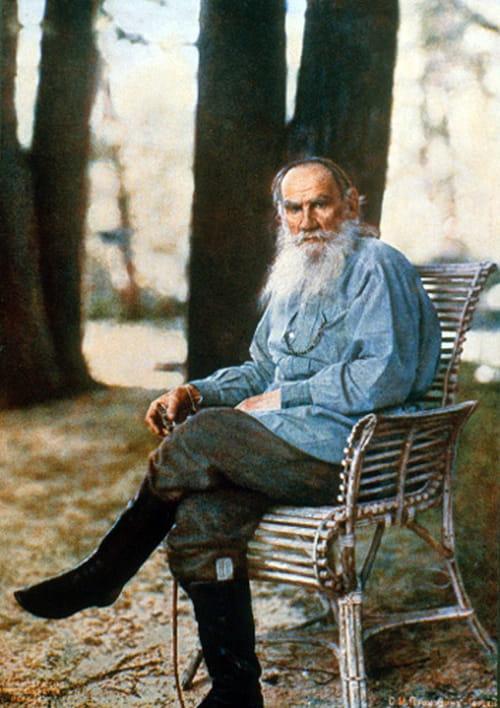 Biographie. Léon Tolstoï ou du malheur d'être né comte