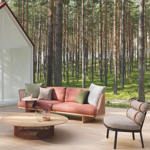 Idee giardino il comfort di casa nel design outdoor for Outdoor giardino