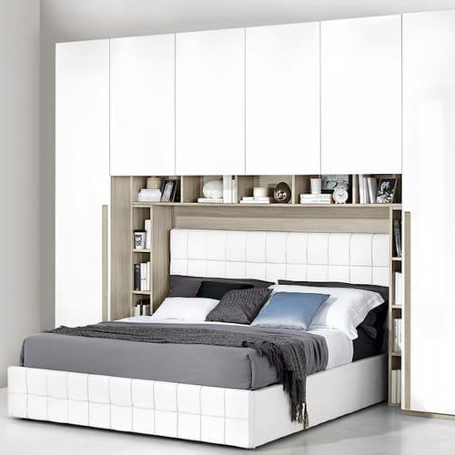 Armadio a ponte camere da letto spaziose e organizzate - Mercatone uno offerte camere da letto ...