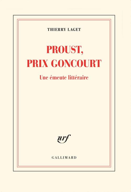 Thierry Laget : Proust et le Goncourt