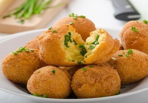كرات البطاطس اطباق النخبة
