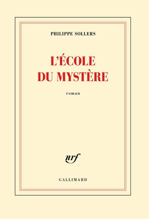 Philippe Sollers retourne à l'École du Mystère