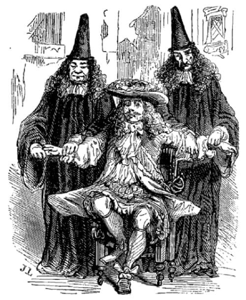 6 octobre 1669 : Molière fait jouer Monsieur de Pourceaugnac à Chambord