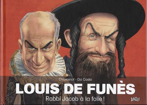 Louis de Funès : l'odyssée en dessins