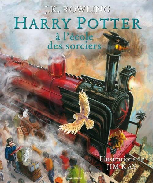 Harry Potter à l'école des sorciers, album illustré
