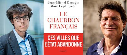 Jean-Michel Décugis et Marc Leplongeon. Extrait de : Le chaudron français