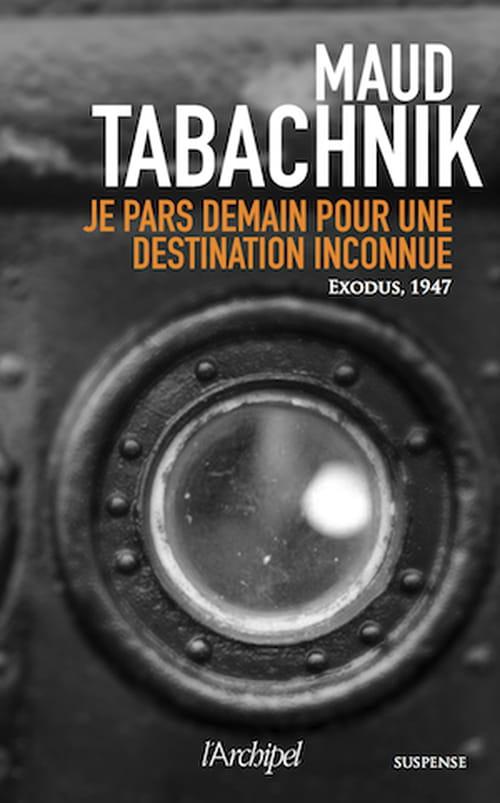Avec l'Exodus, Maud Tabachnik oublie pour un temps les criminels qui peuplent ses romans