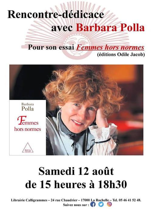 Barbara Polla : une femme hors norme à La Rochelle