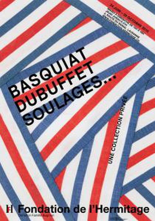 Basquiat, Dubuffet, Soulages… à la Fondation de l'Hermitage