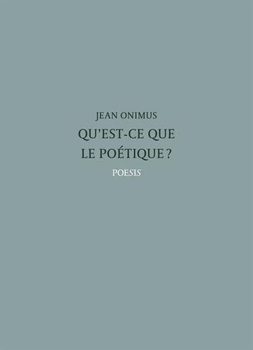 Jean Onimus réveille le poète qui est en nous