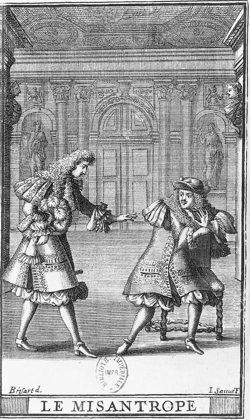 Le Misanthrope de Molière. Résumé
