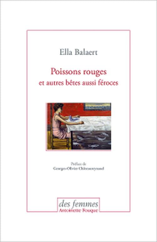 Ella Balaert : l'écume, la peau, la langue