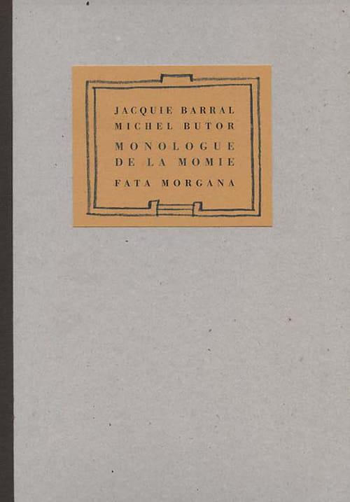 L'inavouable communauté selon Jacquie Barral et Michel Butor