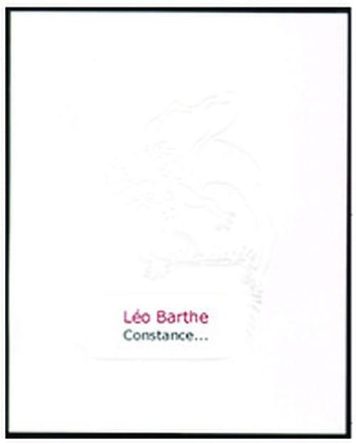 Léo Barthe ou les fortunes du manque de vertu
