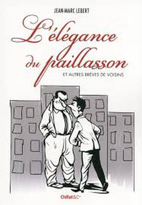 Palier pour potins dans L'élégance du paillasson de Jean-Marc Lebert