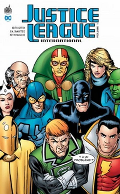 Justice League International, tome 1