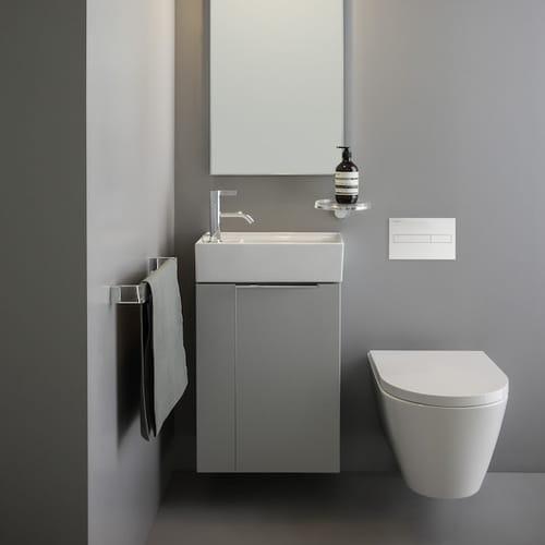 Bagno piccolo soluzioni per sfruttare lo spazio - Sanitari per bagno piccolo ...