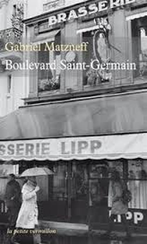 Gabriel Matzneff, Boulevard Saint-Germain