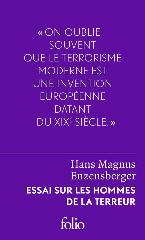 """L'essai sur les hommes de la terreur d""""Enzensberger"""