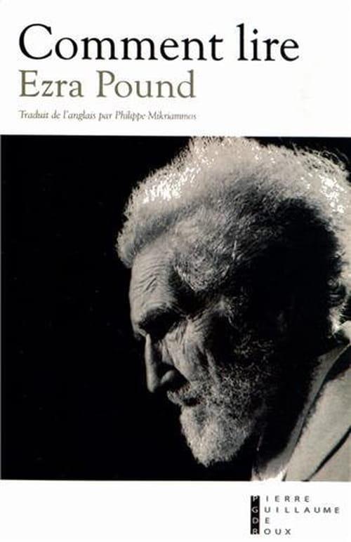 Comment lire Ezra Pound