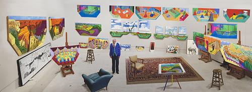 David Hockney : jeux et enjeux