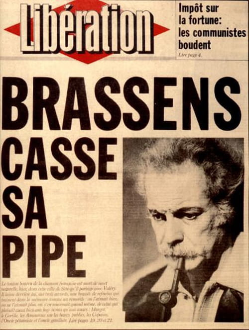 22 octobre 1921 : Naissance de Georges Brassens
