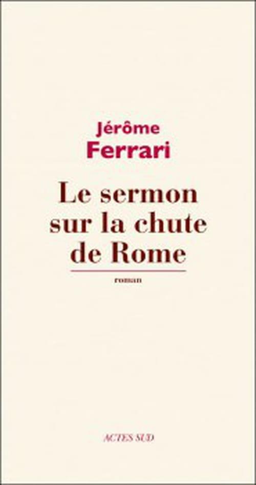 Le coup de cœur du libraire - Jérôme Ferrari : Philosophie corse