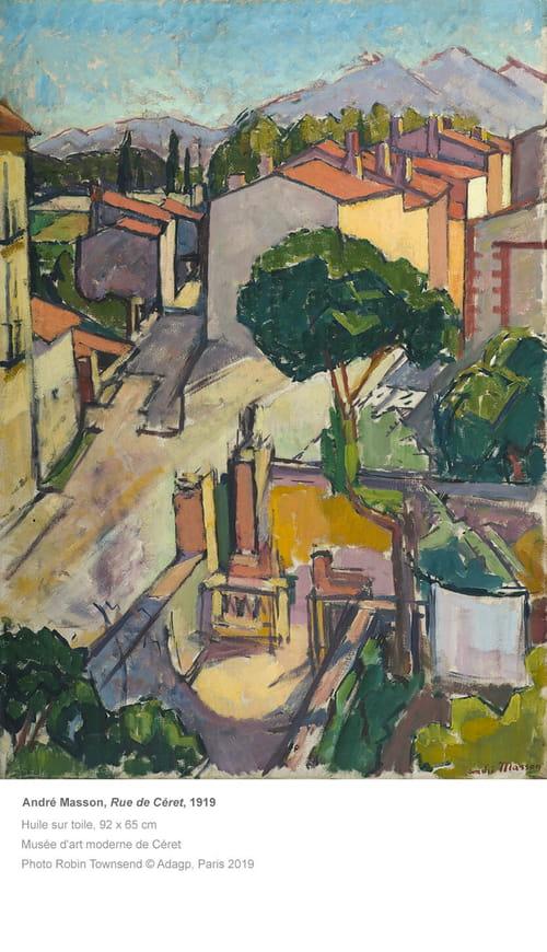 André Masson : peindre le monde