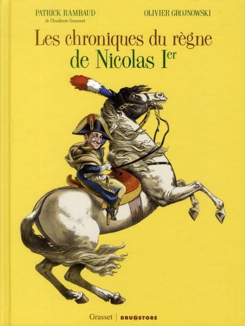 "Patrick Rambaud, ""Cinquième chronique du règne de Nicolas Ier"""