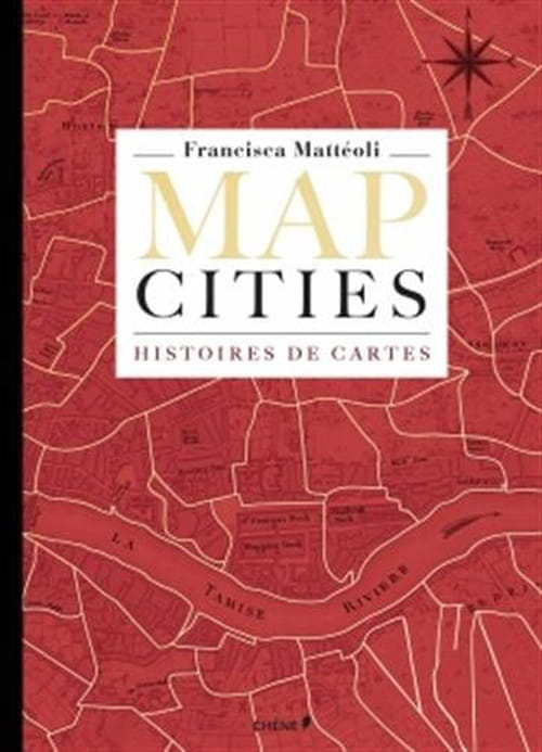 Map cities : des cartes aux allures d'enluminures