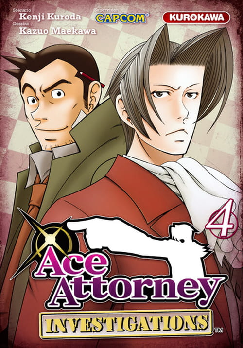 Ace Attorney - Investigations, quatrième et dernier tome
