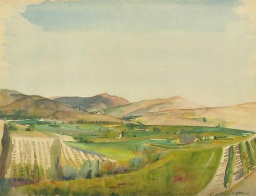Lucien Jacques (1891-1961) au musée municipal de Forcalquier