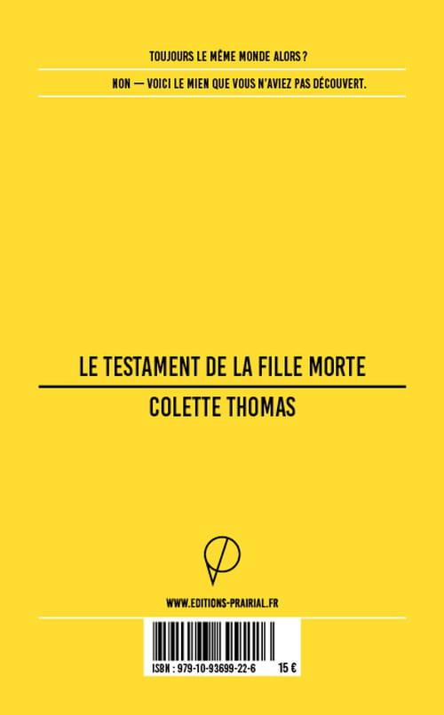 Colette Thomas : avant le silence
