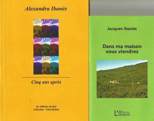 Alexandra et Jacques Ibanès à l'Iris de Suse