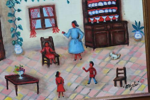 Aimée Castain, un certain art de peindre en dehors des clous
