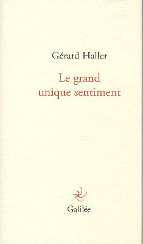 "En ""repons""  – Gérard Haller"