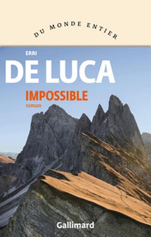 La grande peur de la montagne : Erri de Luca