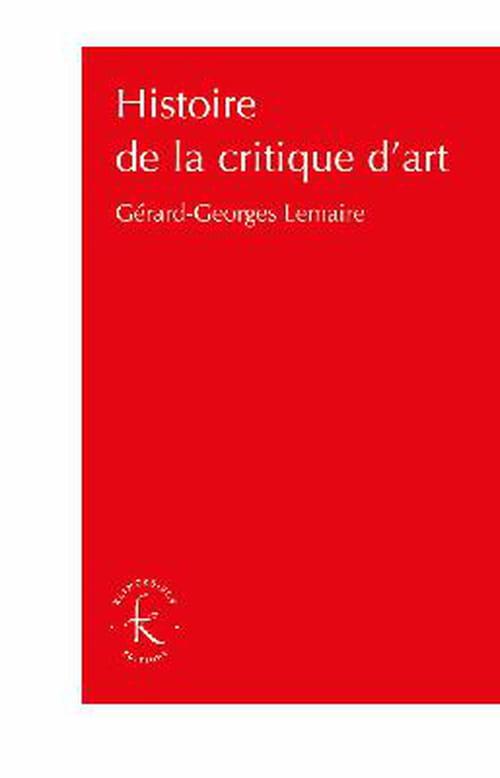 Quand littérature et critique d'art se rejoignent