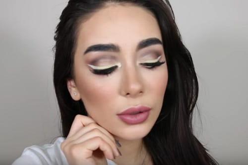 بالفيديو: احصلي على إطلالة جريئة بالآيلاينر الأبيض من خبيرة التجميل مايا أحمد