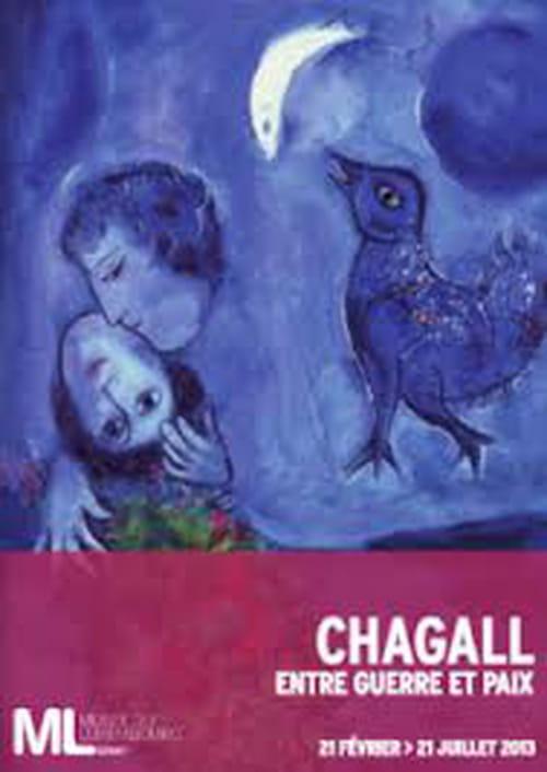 Chagall, un ange plane au-dessus des ombres